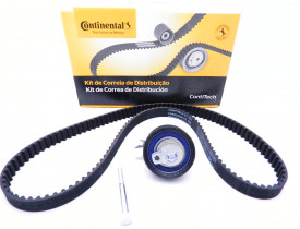 Kit Correia Dentada + Esticador Contitech VW Fox Gol Golf Polo Saveiro