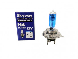 Lâmpada H4 Superbranca Skyway 12V 60/55W
