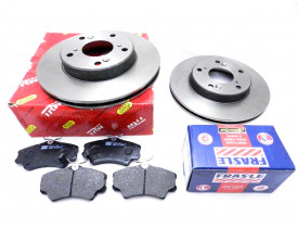 Kit Disco e Pastilha Freio New Civic 07 08 09 10 11