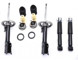 Kit 4 x Amortecedores Mercedes Classe A 160 A190 + 2 Kit Coxim Batente Rolamento