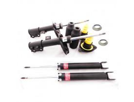 Kit com 4 Amortecedores KYB Hyundai i30 + 2 Kits Coxim Rolamento Batente