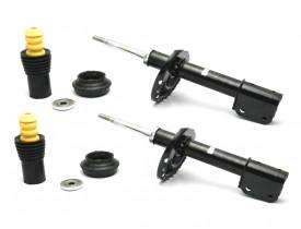 Kit 2 Amortecedores Originais + 2 Kits Renault Logan e Sandero Novo Após 2014 Dianteiros