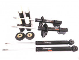 Kit com 4 Amortecedores Cofap + 4 Kits para Renault Logan ou Sandero