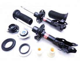 2 Amortecedor Dianteiro KYB Honda New Civic + 2 Kits Coxim Batente Coifa