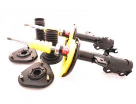 Kit 2 Amortecedores KYB para Toyota Rav4 + Kits Coxim Dianteiro