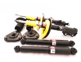 Kit 4 x Amortecedores KYB +  Kits Coxim  Toyota Rav4 2006 a 2012