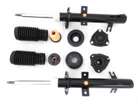 Kit 2 Amortecedor + 2 Coxim e Batentes FORD Ecosport