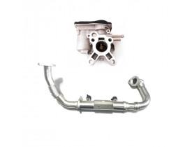 Válvula EGR + Tubo Cano Resfriador Nissan Frontier 2.5