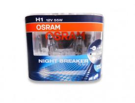 Par de Lâmpada H1 Osram Nightbreaker