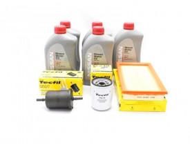 Kit Troca de Óleo Tiida Livina e Grand Livina 1.8 - Óleo Nissan 5w30 e Filtros de Óleo, Ar e Combustível Tecfil