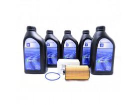 Kit Troca de Óleo Cruze, Sonic e Nova Tracker - Óleo 5w30 GM Sintético e Filtro de Óleo GM ACDelco