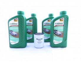 Kit para troca de óleo com 10w30 LUBRAX + Filtro para Civic City e Fit