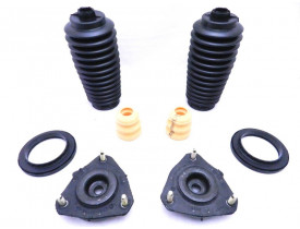 2 x Kit Coxim Batente Rolamento Ford Focus 2001 a 2008
