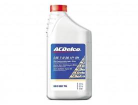 Óleo de Motor SAE 5W30 API SN Semissintético ACDelco - 98550378