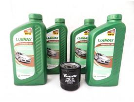 Kit para troca de óleo com 10w30 LUBRAX + Filtro para Toyota Corolla