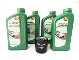 Kit para troca de óleo com 10w30 LUBRAX + Filtro Toyota Corolla 2003 a 2012