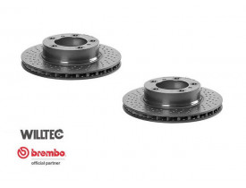 Disco de Freio Porsche Boxter e Cayman - DW2200 - Brembo - Dianteiro