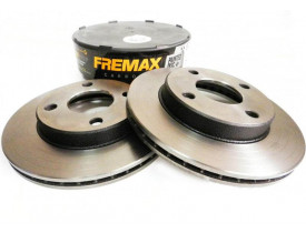Disco de Freio Ecosport, Fiesta e Focus - BD5344 - Fremax - Dianteiro