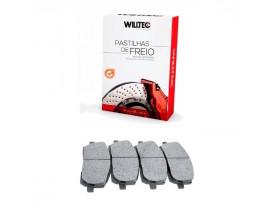 Pastilha de Freio Cielo e XC60 - Willtec - Traseira