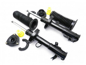 Kit 2 Amortecedor Honda Civic 2012 até 2016 com Kit Coxim Batente Coifa - Dianteiro - Allen Amortecedores