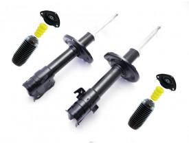 Par Amortecedor Subaru Forester 2009 até 2012 - Dianteiro - Willtec - C/Kit Coxim, Rolamento, Batente e Coifa