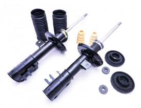 2 Amortecedores Originais + 2 Kits Coxim GM Spin Dianteiros