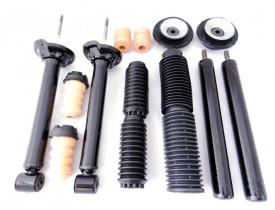 Kit Suspensão VW Gol G3 e G4 2001 a 2008 - 4x Amortecedores Cofap  + Kit Coxim , Batente e Coifa