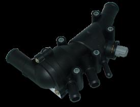 Válvula termostática completa ORIGINAL FORD Courier Ecosport Fiesta Focus a Gasolina