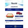 Filtro de Ar Fiat Toro Jeep Compass Renegade